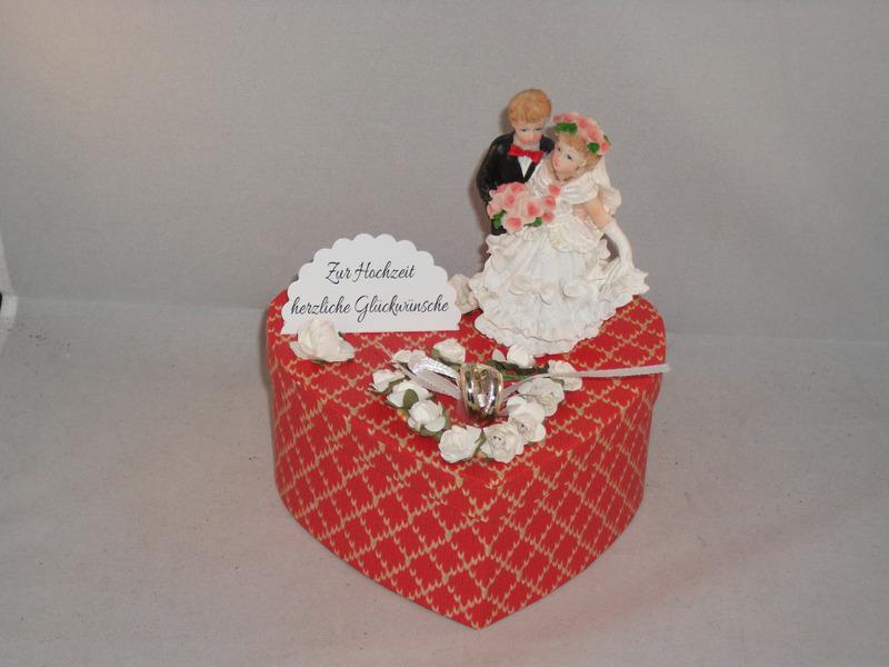 - Geldgeschenk Hochzeit, Geschenkschachtel, Herzschachtel, romantisch - Geldgeschenk Hochzeit, Geschenkschachtel, Herzschachtel, romantisch