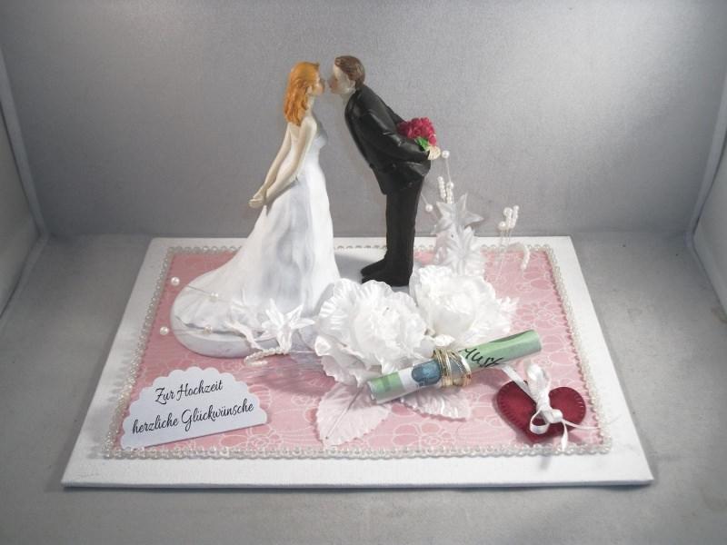 - Geldgeschenk Hochzeit, küssendes Paar, Kuss, Liebe - Geldgeschenk Hochzeit, küssendes Paar, Kuss, Liebe
