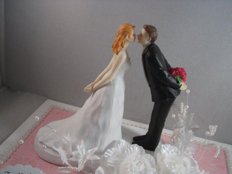 Kleinesbild - Geldgeschenk Hochzeit, küssendes Paar, Kuss, Liebe
