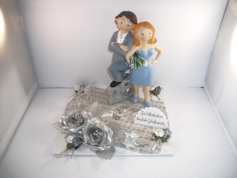 Geldgeschenk Zur Silberhochzeit 25 Ehejubiläum 25 Hochzeitstag Silberne Hochzeit
