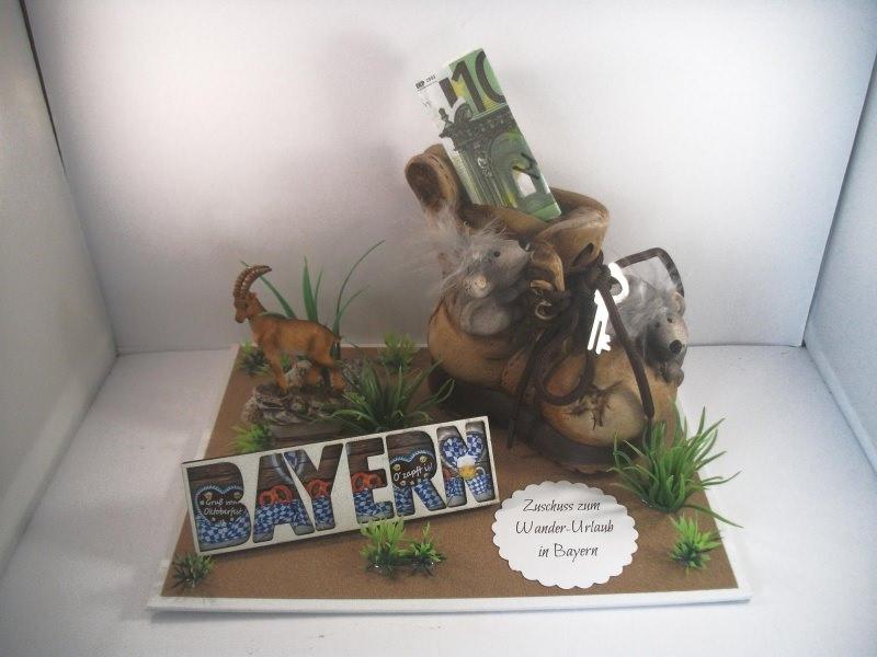 Anlasse Geldgeschenk Geburtstag Wanderurlaub Wandern Bayern