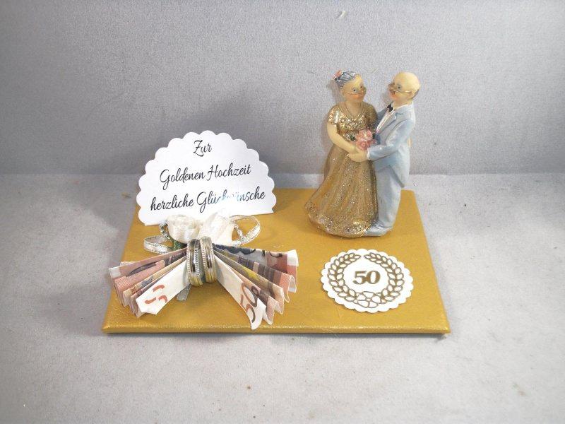 Anlasse Geldgeschenk Goldhochzeit Goldene Hochzeit 50 Ehejubilaum