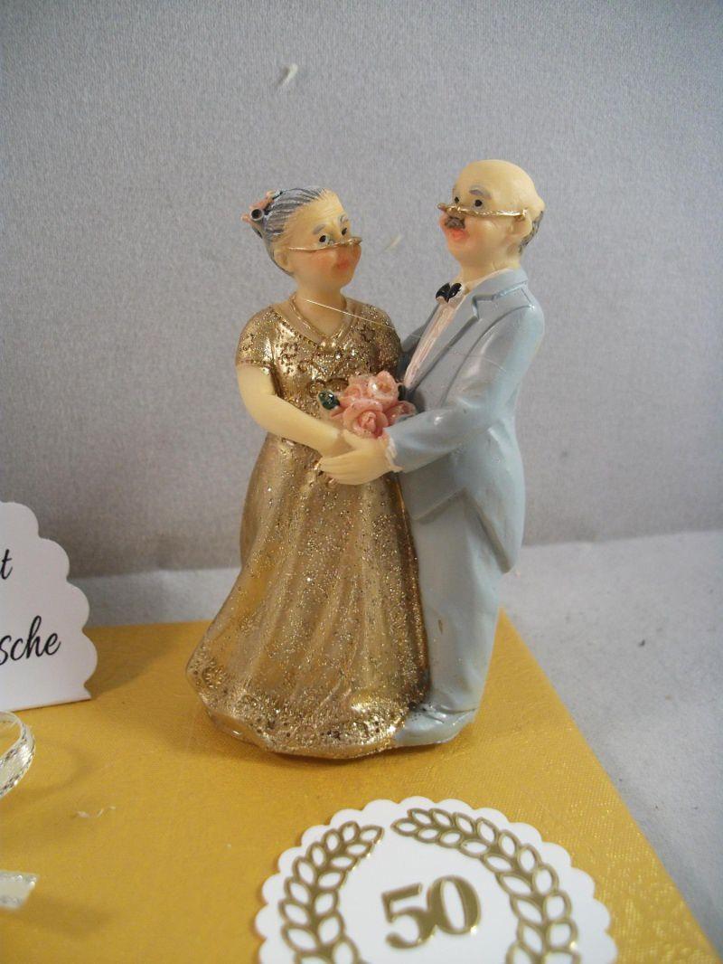 Kleinesbild - Geldgeschenk Goldhochzeit, Goldene Hochzeit, 50, Ehejubiläum