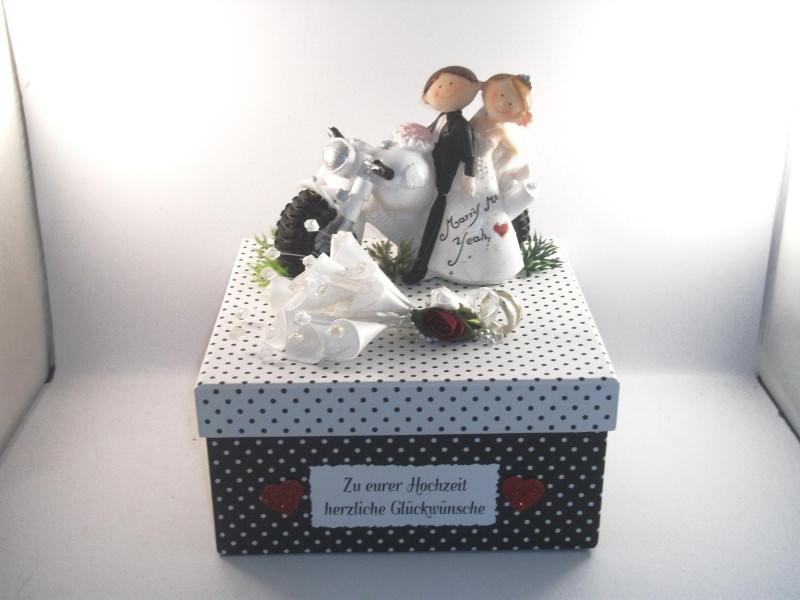 Anlasse Geldgeschenk Zur Biker Hochzeit Motorrad Lustig