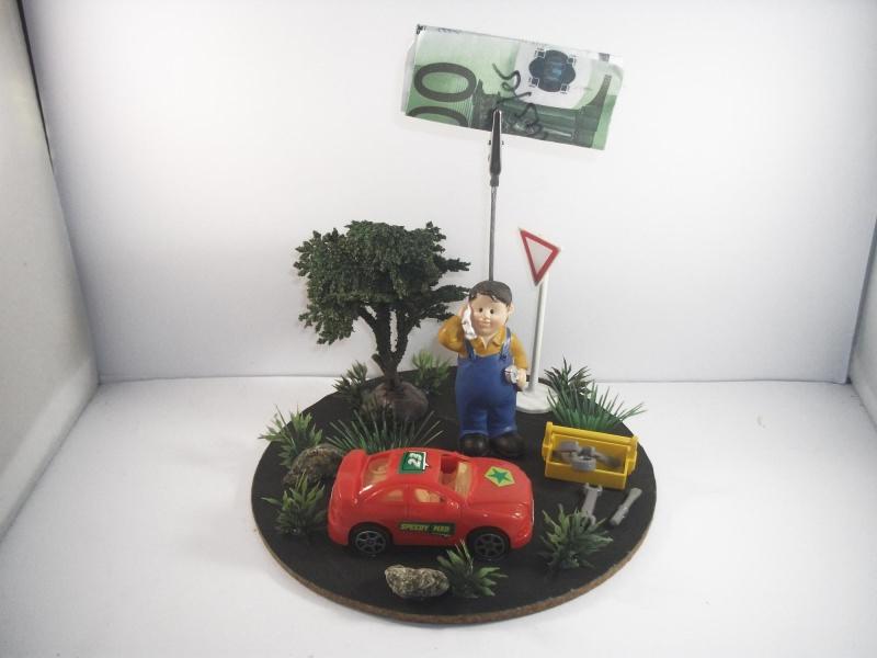 Anlasse Geldgeschenk Auto Geburtstag Reparatur Tuning