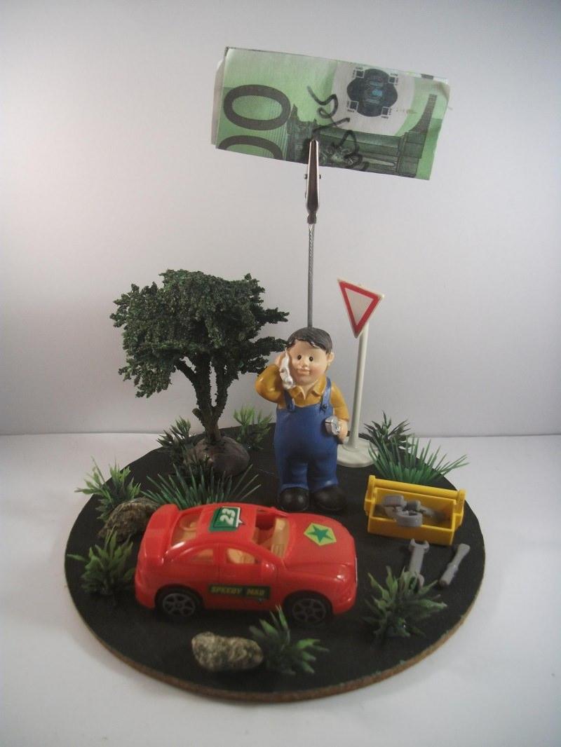 Kleinesbild - Geldgeschenk, Auto, Geburtstag, Reparatur, Tuning, Spritgeld, Benzingeld