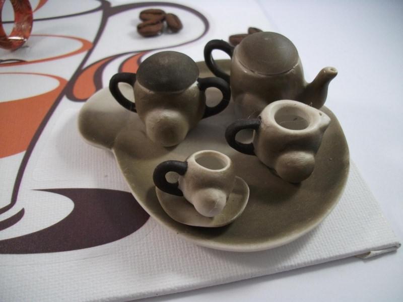 Kleinesbild - Geldgeschenk Kaffeekränzchen, Geburtstag, Kaffeegeschirr, Kaffeemaschine, Kaffee