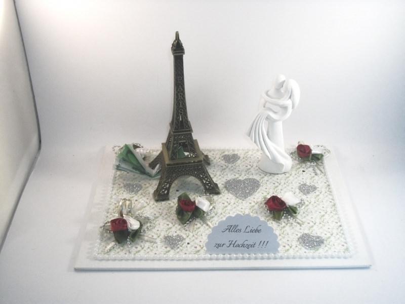 Anlasse Geldgeschenk Hochzeit Paris Eiffelturm Reise