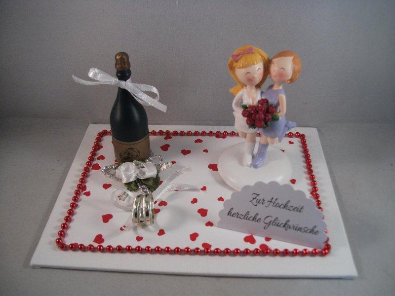 Kleinesbild - Geldgeschenk, Frauenhochzeit, lesbisch, Hochzeit, Frauen heiraten