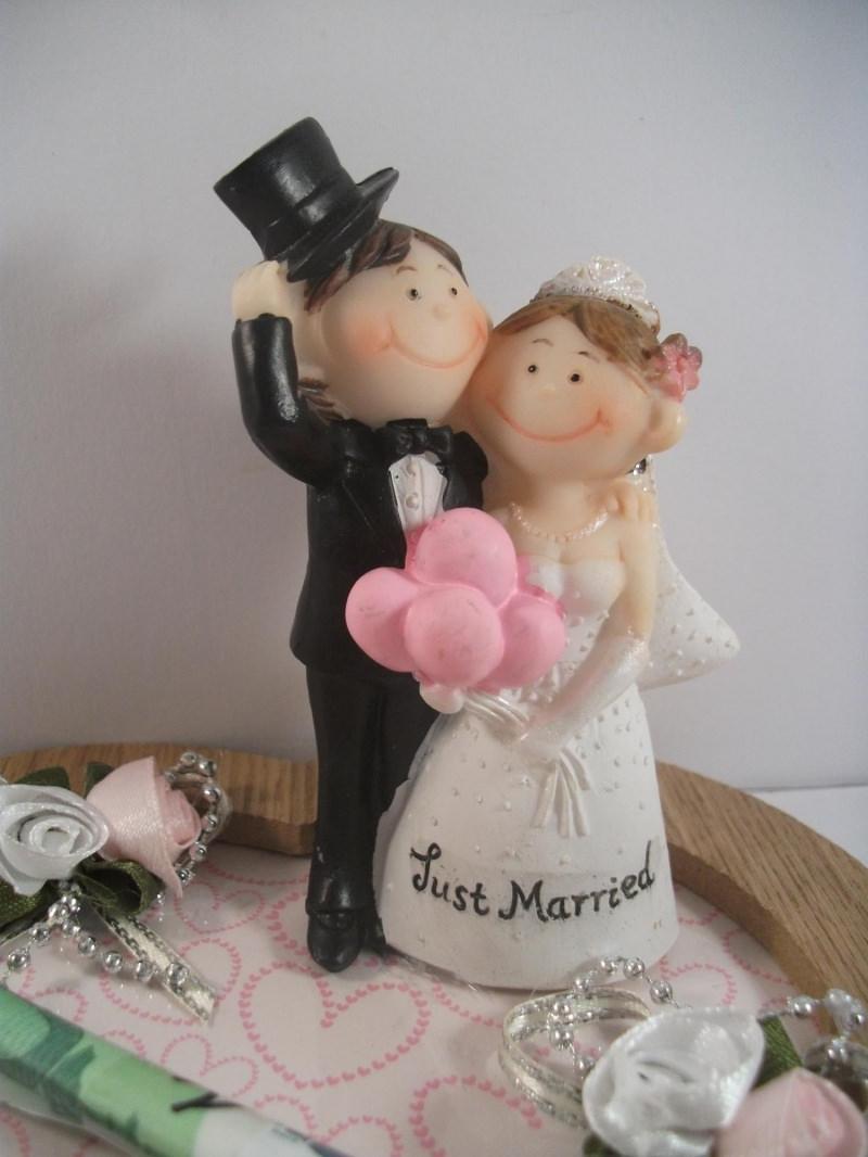 Kleinesbild - Geldgeschenk zur Hochzeit, comic, funny, humorvoll, Humor, lustig, just married