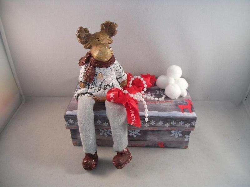 Kleinesbild - Geldgeschenk, Geschenkschachtel, Weihnachten, Geschenkbox, Elch, Rentier
