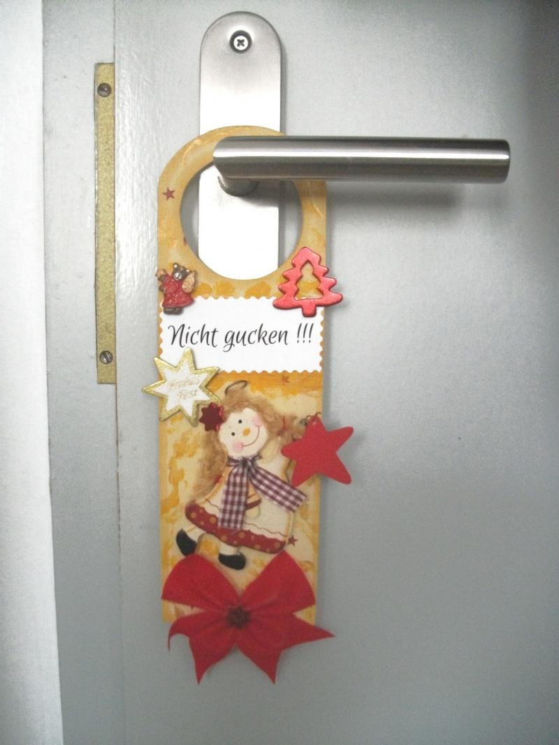 - Türschild für Weihnachten, Nicht gucken, Schlüsselloch-Verdecker - Türschild für Weihnachten, Nicht gucken, Schlüsselloch-Verdecker