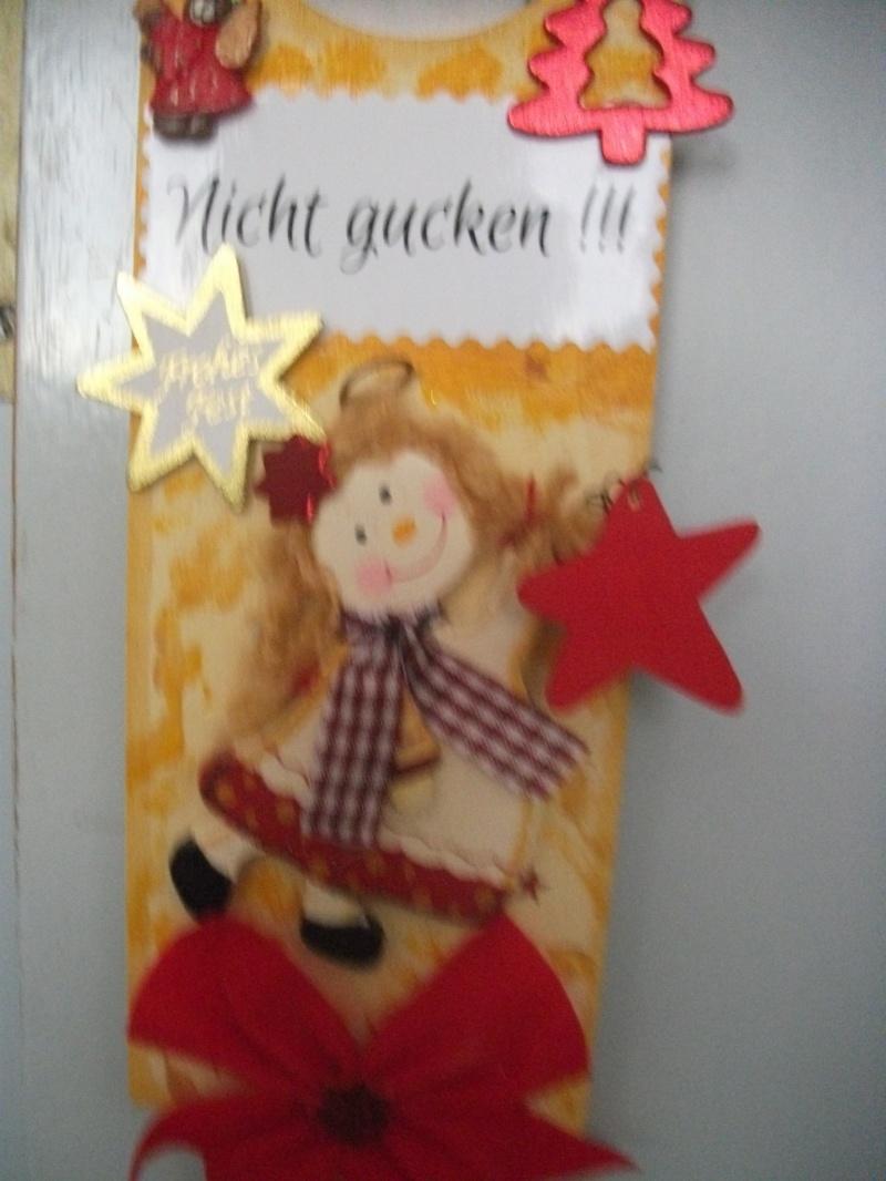 Kleinesbild - Türschild für Weihnachten, Nicht gucken, Schlüsselloch-Verdecker