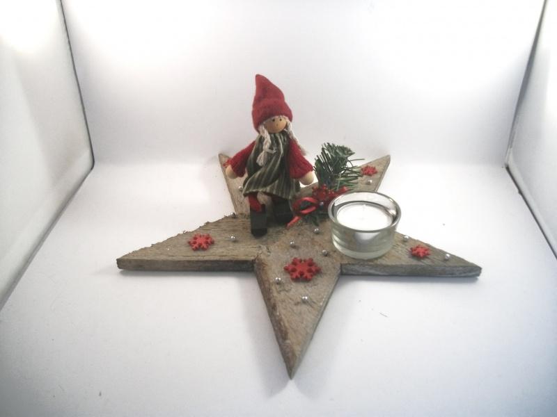 - weihnachtliche Tischdekoration aus Naturmaterial, Advent, auch als Geldgeschenk verwendbar     - weihnachtliche Tischdekoration aus Naturmaterial, Advent, auch als Geldgeschenk verwendbar