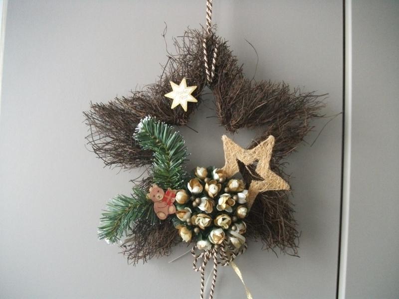 - Rebenstern als Wanddekoration und Türdekoration zu Weihnachten, auch als Geldgeschenk  - Rebenstern als Wanddekoration und Türdekoration zu Weihnachten, auch als Geldgeschenk