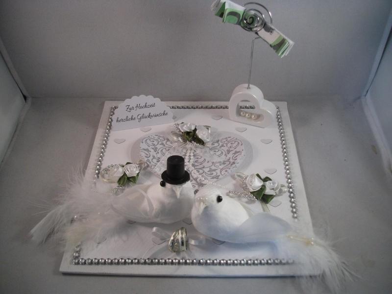 Kleinesbild - Geldgeschenk, Hochzeit, Ehe, Tauben, Herz, Hochzeitsgeschenk