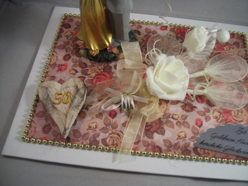 Kleinesbild - Geldgeschenk Goldene Hochzeit, 50, Ehejubiläum, lange Ehe, Goldhochzeit, junggebliebenes Paar