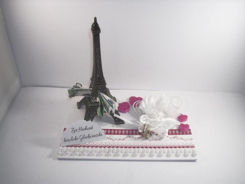 - Geldgeschenk Hochzeit, Paris, Eiffelturm, Reise, Hochzeitsreise, Flitterwochen, Frankreich - Geldgeschenk Hochzeit, Paris, Eiffelturm, Reise, Hochzeitsreise, Flitterwochen, Frankreich