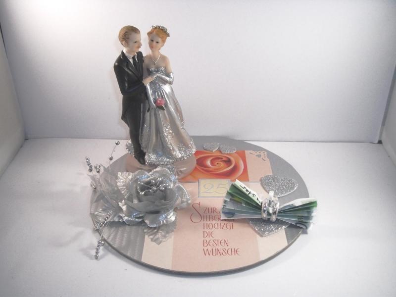 - Geldgeschenk zur Silberhochzeit, 25, Ehejubiläum, 25. Hochzeitstag, Silberne Hochzeit    - Geldgeschenk zur Silberhochzeit, 25, Ehejubiläum, 25. Hochzeitstag, Silberne Hochzeit