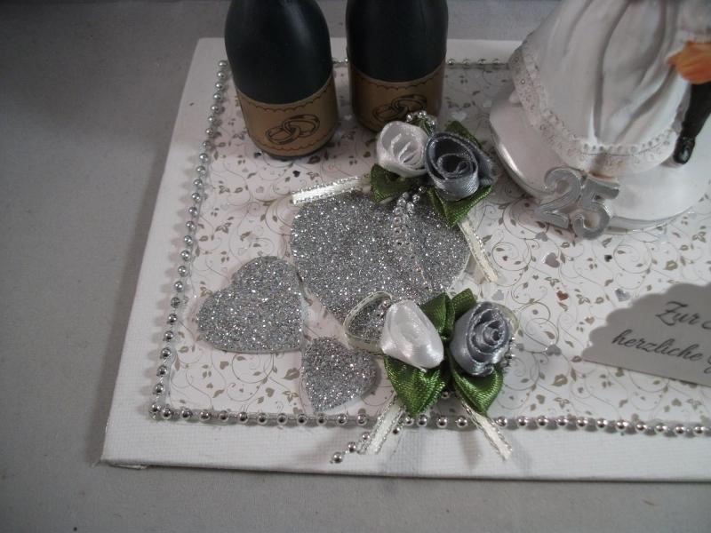 Kleinesbild - Geldgeschenk zur Silberhochzeit, 25, Ehejubiläum, 25. Hochzeitstag, Silberne Hochzeit, lustige Figur
