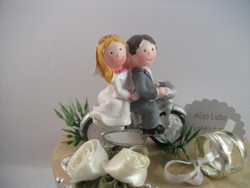 Kleinesbild - Geldgeschenk Hochzeit, Biker, Motorrad, Roller, Motorradfahrer, Biker-Hochzeit