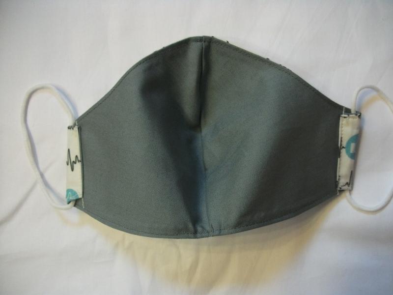 Kleinesbild -  Mund-Nasen-Maske, Maske, Behelfsmaske, Gesichtsmaske, hübsches Motiv Krisenheld, für Herren, 103-95