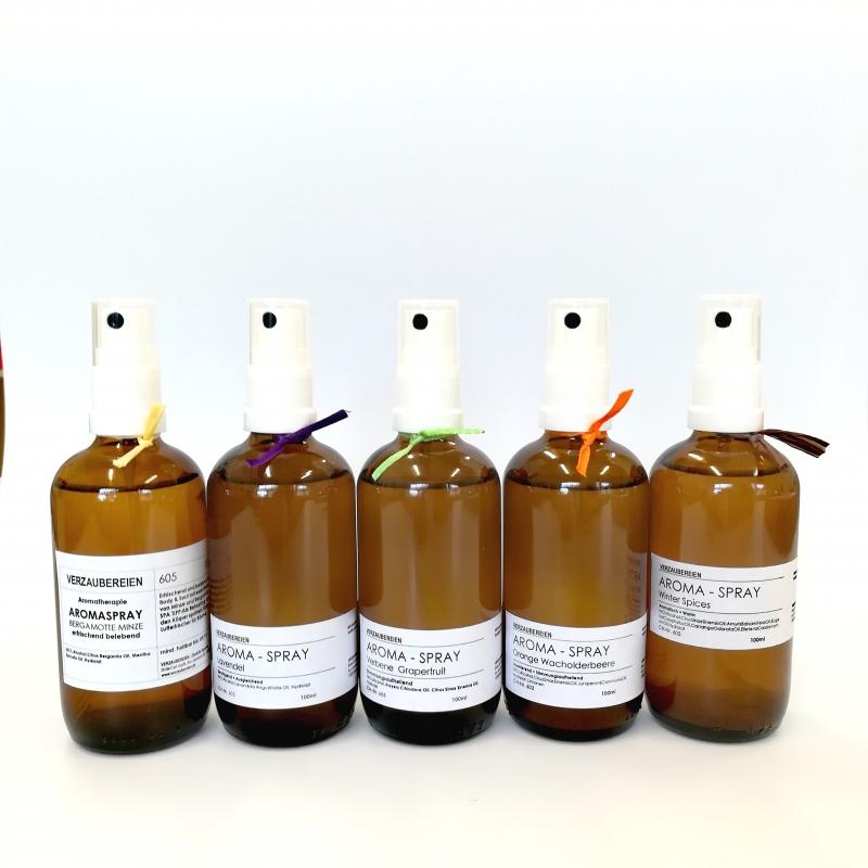 - Aroma-Spray Bergamotte-Minze Body Splash - 100% Essenzen aus der Natur  - Aroma-Spray Bergamotte-Minze Body Splash - 100% Essenzen aus der Natur