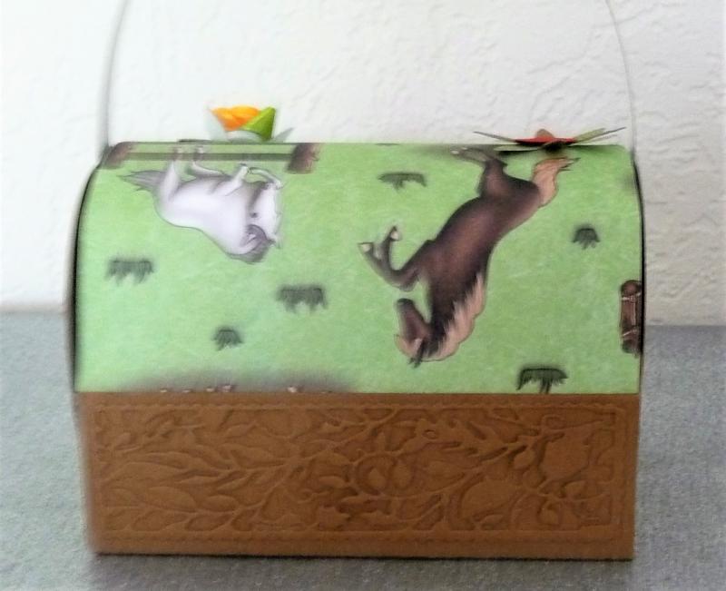 Kleinesbild - Geldgeschenk Geschenk Box Geburtstag Mädchen Pferde Geschenk Verpackung