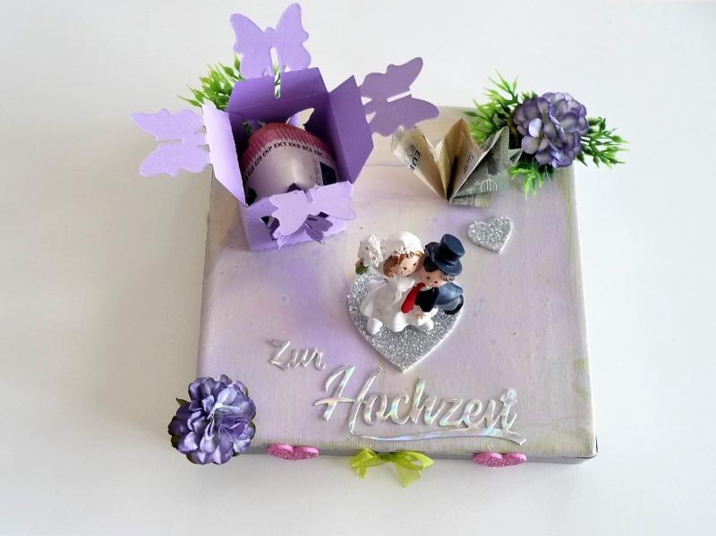 Kleinesbild - Geldgeschenke zur Hochzeit Geschenkverpackung Hochzeitsgeschenk