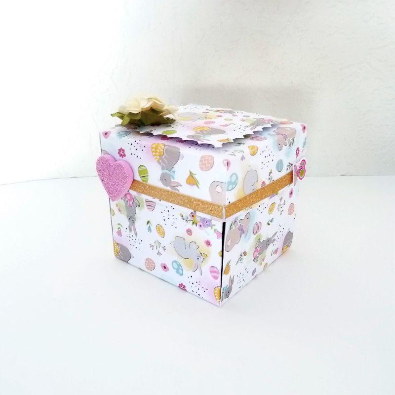 Kleinesbild - Ostern Geldgeschenk Geschenkbox Überraschungsbox Osterhase Verpackung