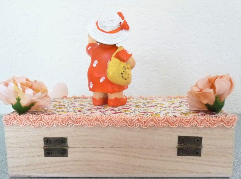 Kleinesbild - Geldgeschenk Urlaub Reise 50. Geburtstag Frau Reisegutschein Geschenkbox