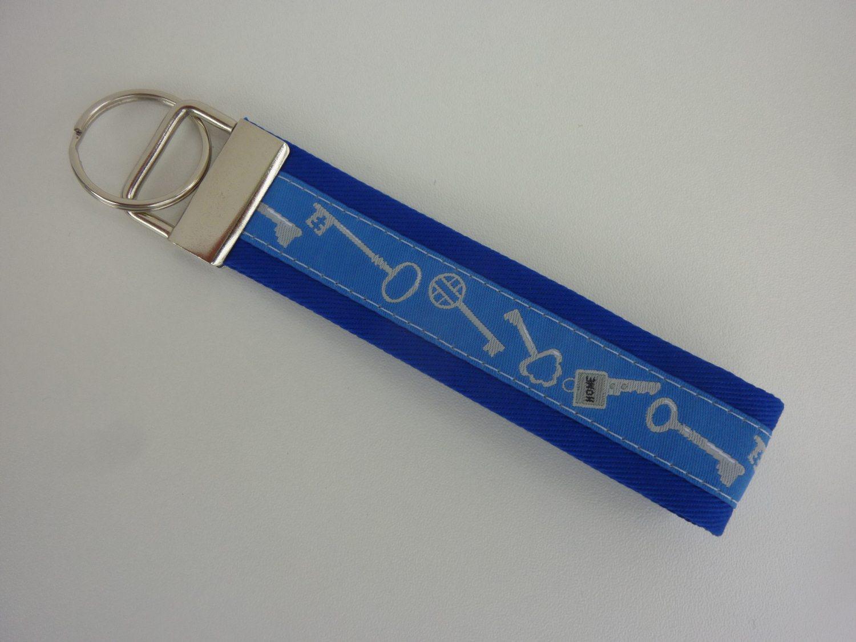- Schlüsselanhänger Schlüssel blau - Schlüsselanhänger Schlüssel blau