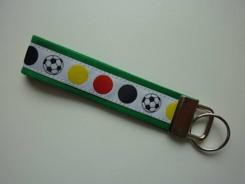 - Schlüsselanhänger Deutschland grün mit weiß - Schlüsselanhänger Deutschland grün mit weiß