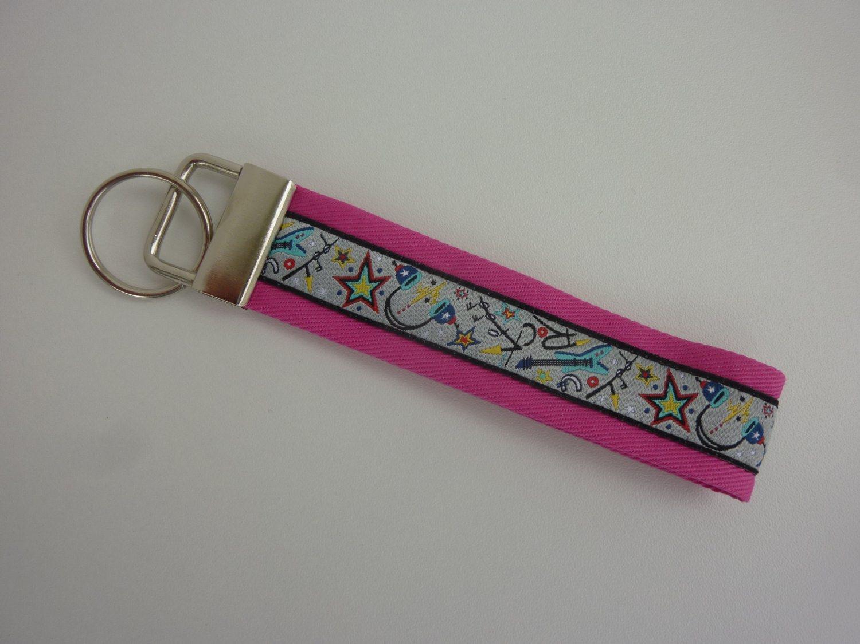 - Schlüsselanhänger ROCK YOU in pink - Schlüsselanhänger ROCK YOU in pink