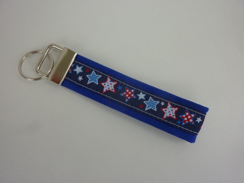 - Schlüsselanhänger STERNE in blau - Schlüsselanhänger STERNE in blau