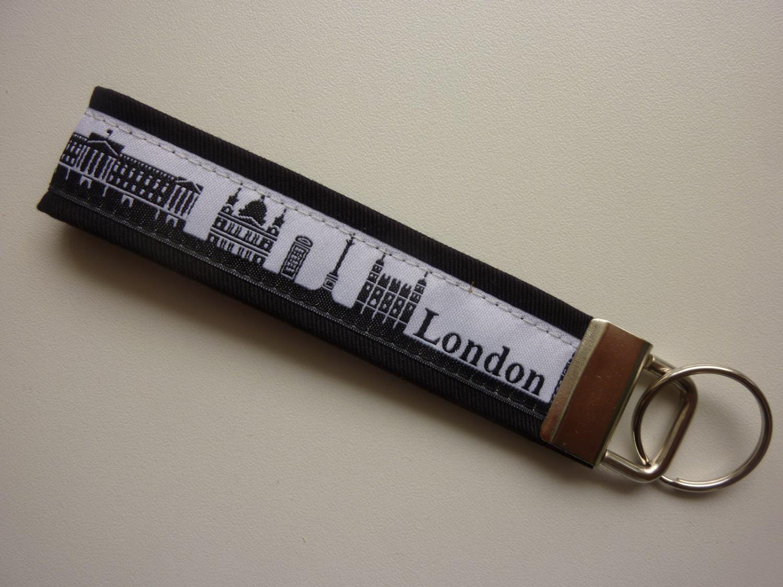 - Schlüsselanhänger LONDON schwarz - Schlüsselanhänger LONDON schwarz