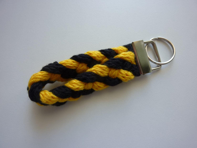 - Schlüsselanhänger schwarz gelb - Schlüsselanhänger schwarz gelb