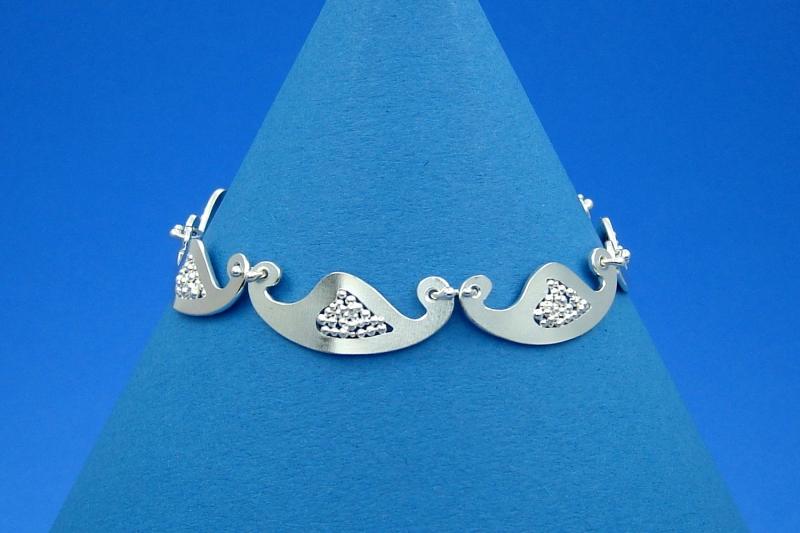 - zartes Sterlingsilber-Armband handgearbeitet aus Argentium® kaufen - zartes Sterlingsilber-Armband handgearbeitet aus Argentium® kaufen