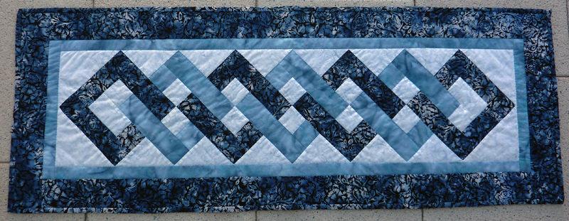 Kleinesbild - ✂ Batik Stoff Meterware edle Rosen dunkelblau und grün