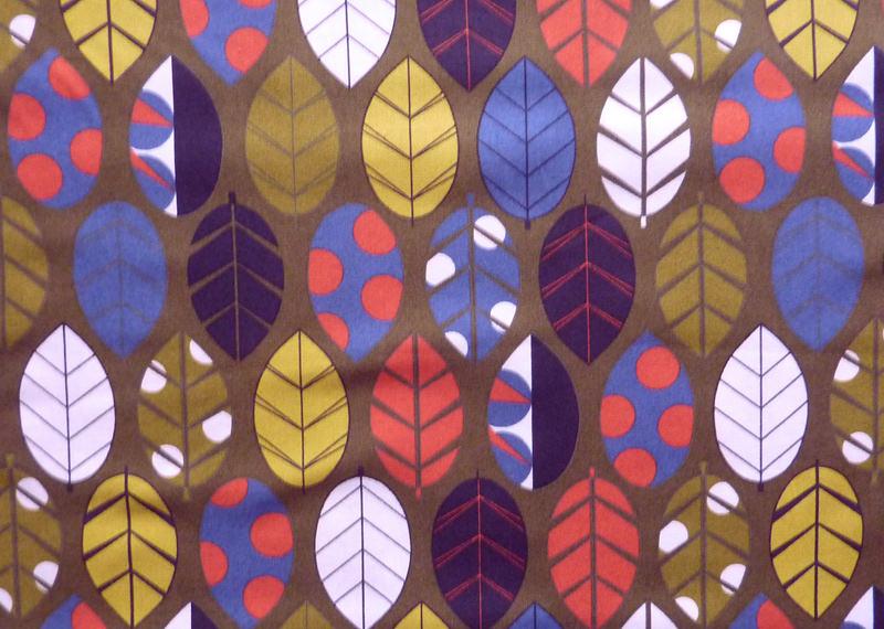 - ✂ Patchworkstoff Meterware Silver Leaves bunte Blätter - ✂ Patchworkstoff Meterware Silver Leaves bunte Blätter