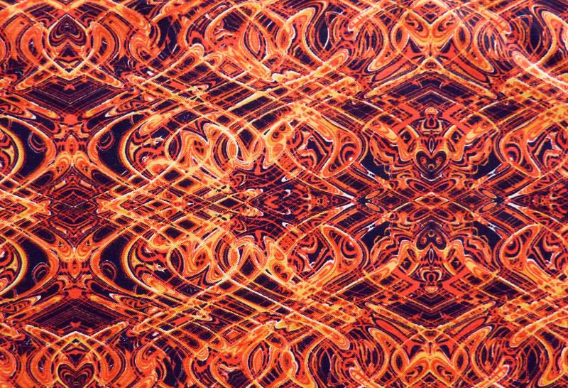 - ✂ Patchworkstoff Meterware Paula Nadelstern Kismet 1774 orange - ✂ Patchworkstoff Meterware Paula Nadelstern Kismet 1774 orange