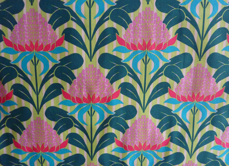 - ✂ Patchworkstoff Meterware große Blumen von Emma Jean Jansen - ✂ Patchworkstoff Meterware große Blumen von Emma Jean Jansen