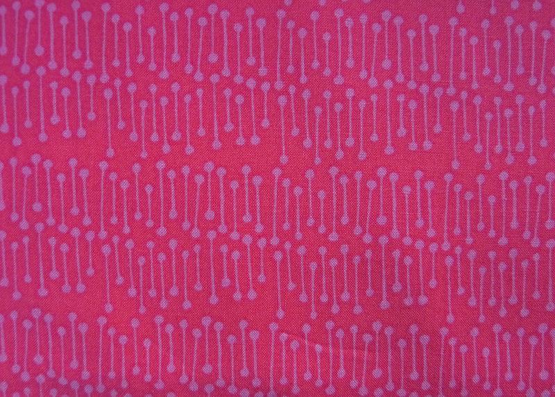 Kleinesbild - ✂ Patchworkstoff Meterware kleine Blumen in pink von Emma Jean Jansen