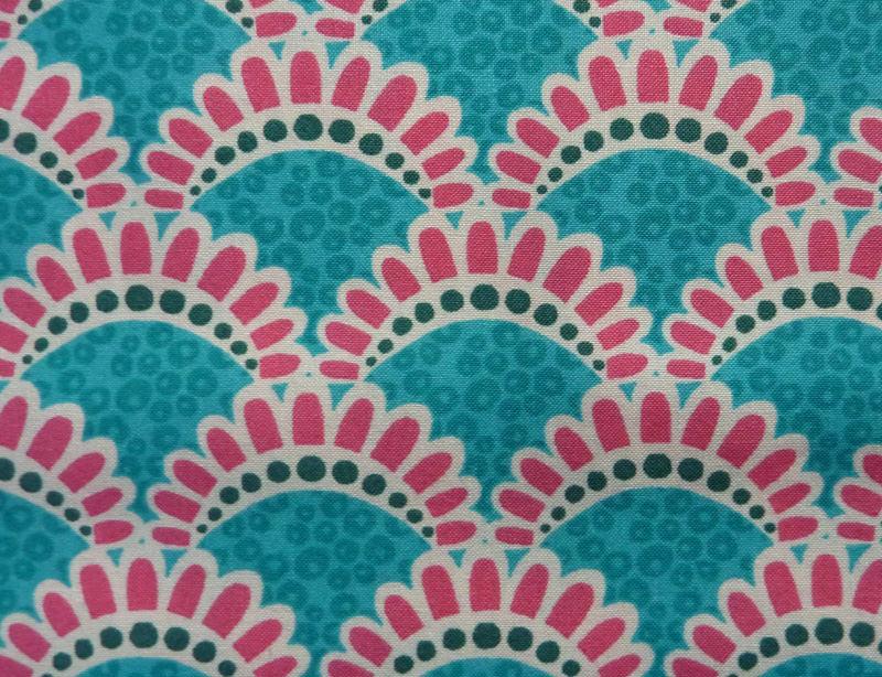 - ✂ Patchworkstoff Meterware kleine Blumen in pink von Emma Jean Jansen  - ✂ Patchworkstoff Meterware kleine Blumen in pink von Emma Jean Jansen