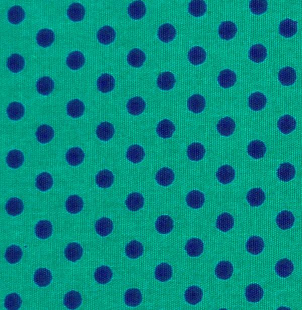 - ✂ Patchworkstoff Meterware kleine lila Punkte auf türkisfarbenem Hintergrund - ✂ Patchworkstoff Meterware kleine lila Punkte auf türkisfarbenem Hintergrund