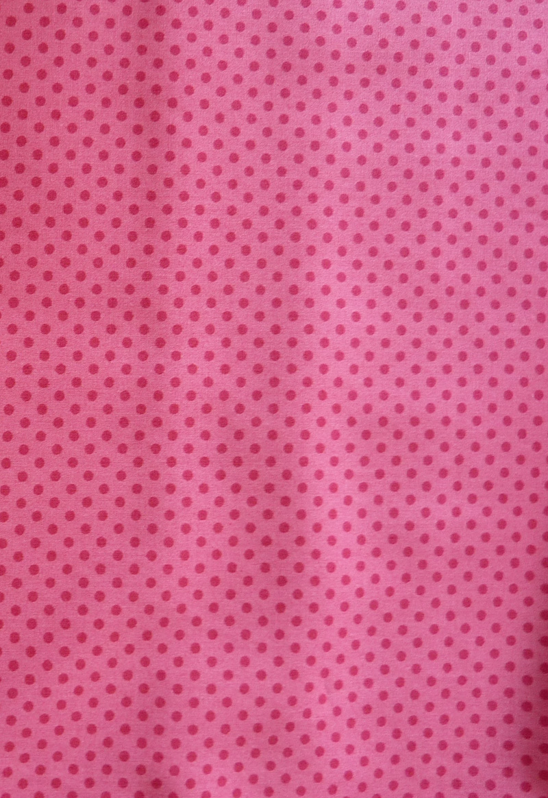 - ✂ Patchworkstoff Meterware kleine pinkfarbene Punkte auf rosa Hintergrund - ✂ Patchworkstoff Meterware kleine pinkfarbene Punkte auf rosa Hintergrund