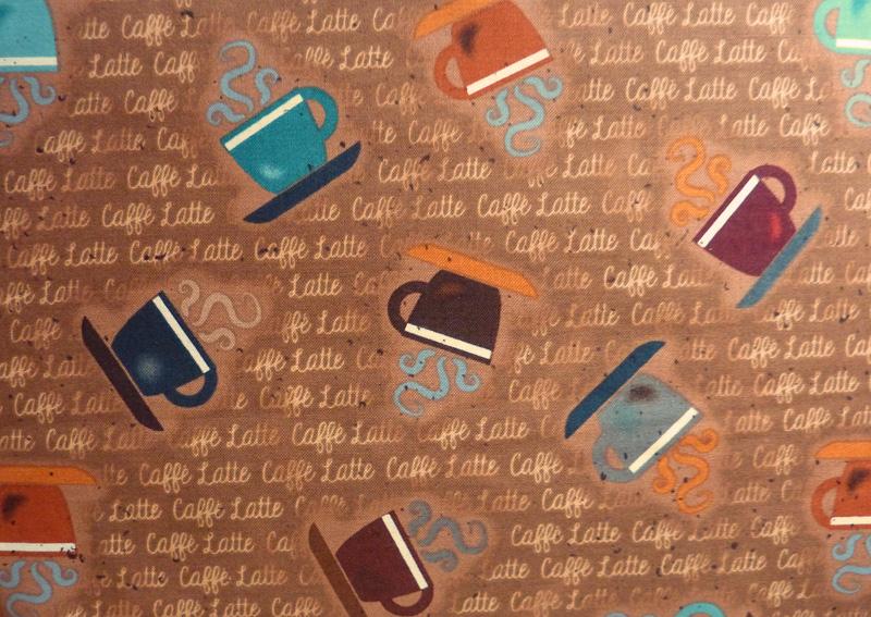 Kleinesbild - ✂ Patchworkstoff Meterware Caffe Latte Punkte