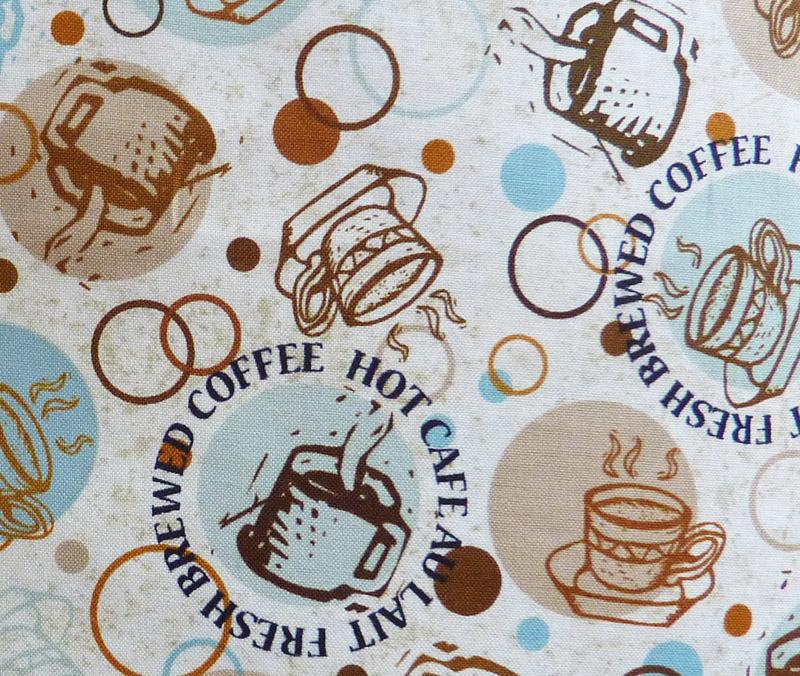 Kleinesbild - ✂ Patchworkstoff Meterware Caffe Latte Mix Paket