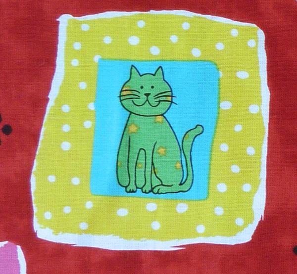 Kleinesbild - amerikanischer Patchworkstoff Meterware Blank Quilting Cat Craze
