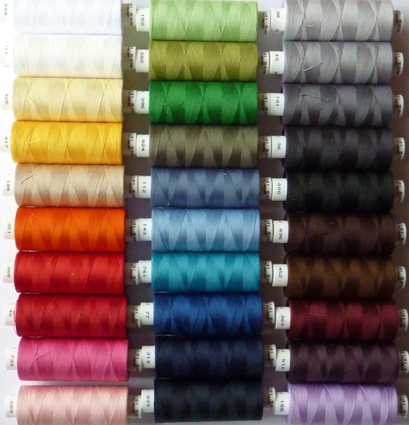 - ✂ 10 verschiedene Farben nach Wahl von Gütermann hochwertiges Toldi-Nähgarn 500 mtr. - ✂ 10 verschiedene Farben nach Wahl von Gütermann hochwertiges Toldi-Nähgarn 500 mtr.